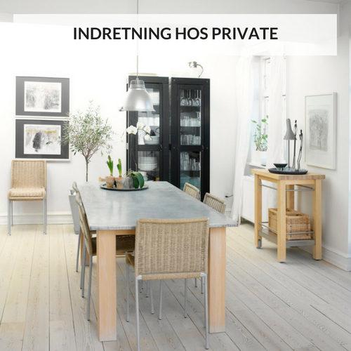 INDRETNING HOS PRIVATE