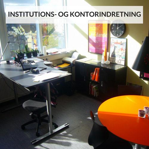 INSTITUTIONS- OG KONTORINDRETNING - SIMONNE.DK