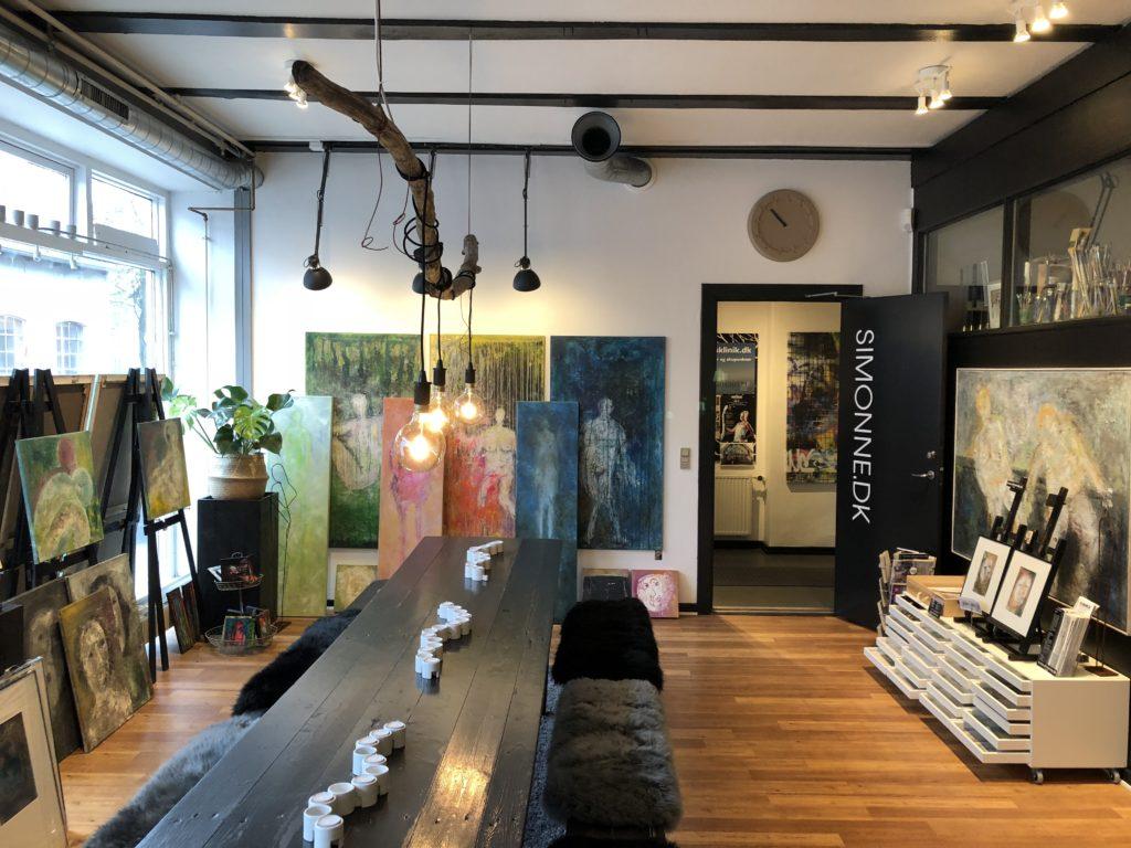 Galleri og værksted - SIMONNE.DK
