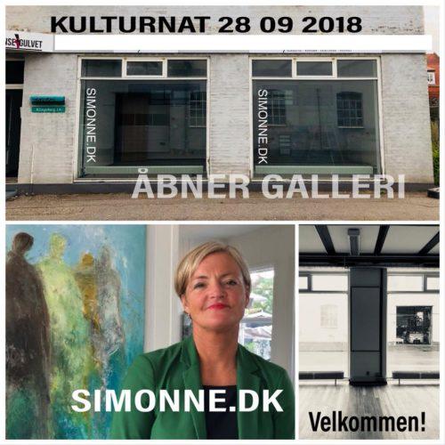 Åbning af galleri SIMONNE.DK