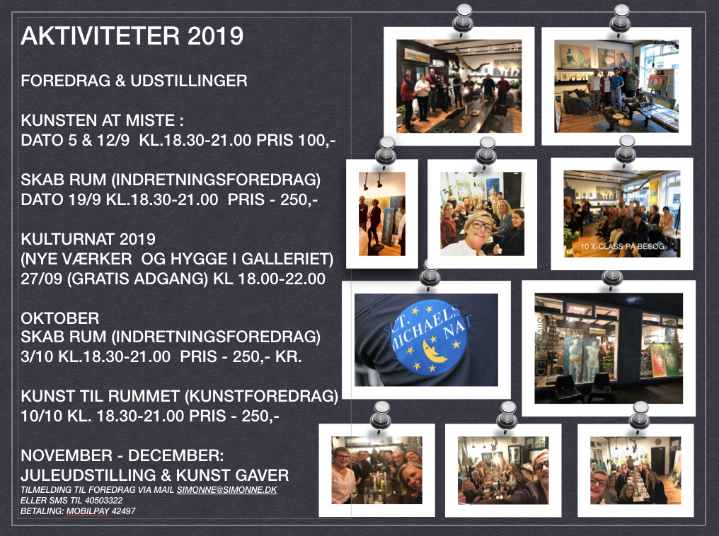 AKTIVITETER 2019 - SIMONNE.DK