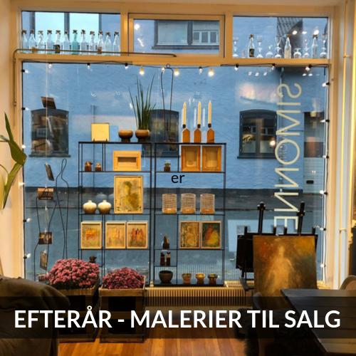 Efterår i galleriet - malerier til salg - SIMONNE.DK
